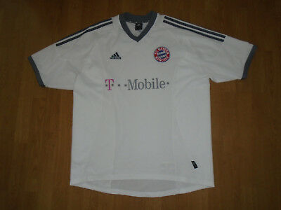 Bayern Munich away shirt 2002-04, extra large, adidas, UK FREEPOST!