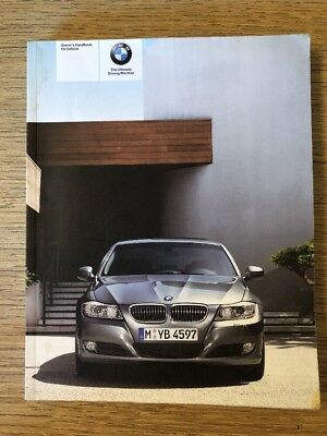 Bmw 3 series e92 e93 coupe convertible owners users manual read genuine bmw 3 series owners handbook manual fandeluxe Images