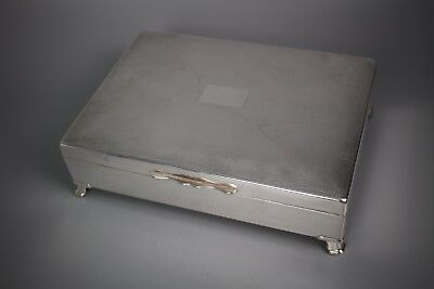 Silver plated cigarette or trinket box by Aristocrat