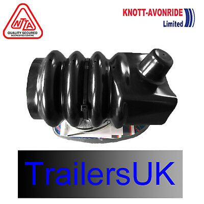 Knott KFG35 Rubber Trailer Bellow/Gator 3500kg Ifor Part - P00873 - Free DEL