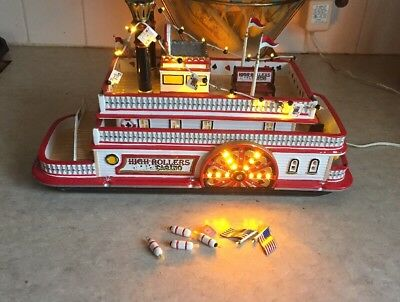 Department 56 High Rollers Riverboat Casino