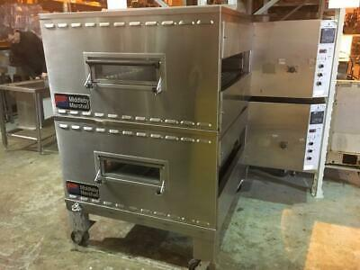 Middleby Marshall - Ps200 /  Gas 32 Inch Fast Bake Set Up - Conveyor Pizza Oven