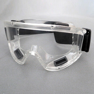 New Clear Lens Protective Safety Glasses Eye Protection Goggles Lab