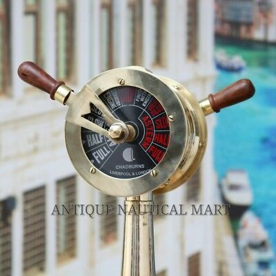 Brass Ship Engine Order Telegraph Office and Home Decorative