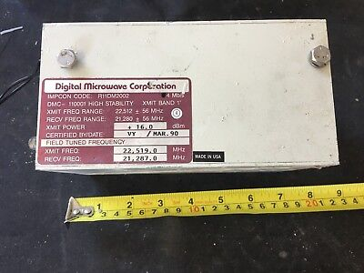 Digital Microwave Corp DMC-110001 High Stability XMIT BAND 1' (3)