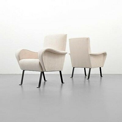 Pair of Lounge Chairs, Manner of Luigi Caccia Dominioni Lot 125