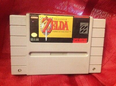 The Legend of Zelda: A Link to the Past SNES Game Only Tested!