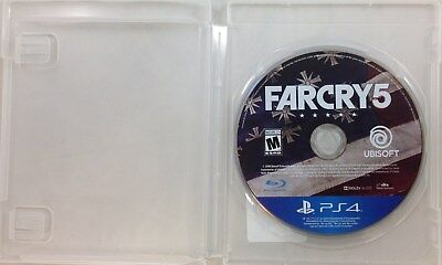 Far Cry 5 PS4 Game Disc Only (3272-US20)