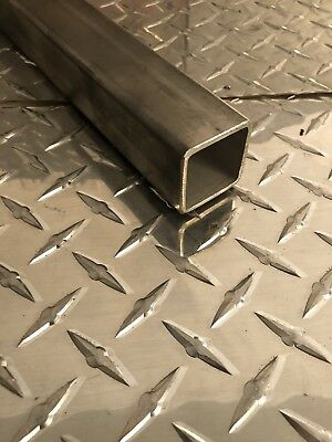 "1-1/2 x 1-1/2 x 11 Gauge 304 Stainless Steel Square Tubing x 24"" Long"