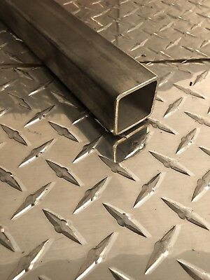"1-1/2 x 1-1/2 x 11 Gauge 304 Stainless Steel Square Tubing x 36"" Long"