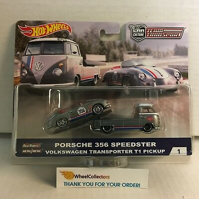 Porsche & VW T1 Pickup * TEAM TRANSPORT Car Culture * 2018 Hot Wheels * In Stock