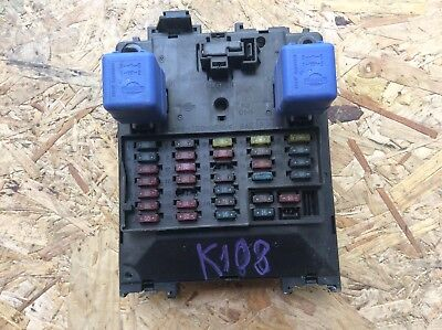 nissan elgrand e50 3 2 diesel fuse box relay board 97-02