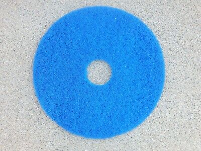 """Commercial Floor Buffer Scrubbing Pad 16"""" Diameter, 3/4"""" Thickness Blue"""