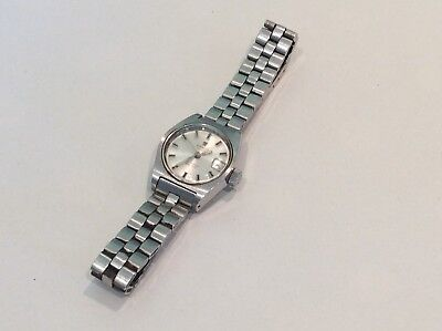 Vintage Ladies watch Tissot PR-516 Automatic Swiss Made Working Ship Worldwide