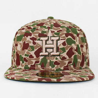 New Era 59Fifty Bubble Camo Houston Astros Camo Original Fitted Baseball Cap