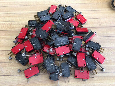 V3L-4-D8 Micro Switches, Lot of 59