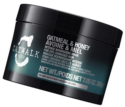TIGI Oatmeal & Honey Intense Nourishing Mask ‑ 7.05 oz jar New Free Shipping