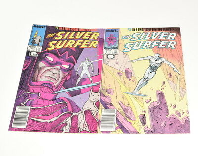 Marvel The Silver Surfer #1-2 Two-Issue Limited Series 1988 Comic Books