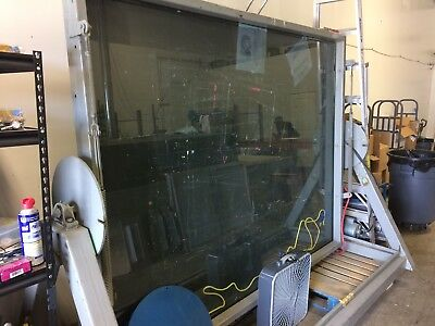 Large Exposure Table Glass w/ Vacuum for Large Screens 8' by 6'
