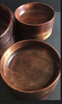 Baribocraft Canada Maple Wooden Small Salad Bowl 6x2 inches