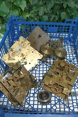 Clock Parts  Mixed Lot Of  Clock Parts  For Spares