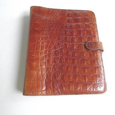 Mulberry -  Leather  Planner-- Organizer-Made In England