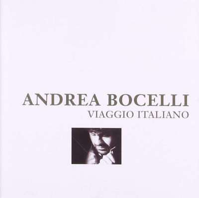 New: ANDREA BOCELLI - Viaggio Italiano CD