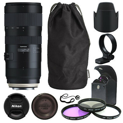Tamron SP 70-200mm f/2.8 Di VC USD G2 Lens for Canon EF + Deluxe Accessory Kit