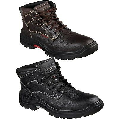 a7018c96e91ada Puma Safety Black Mens Leather Rio Low ASTM SD AT Oxfords Work Shoes.