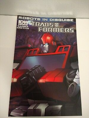 Transformers Robots In Disguise #1 Ironhide Foil Cover A High Grade 2011 IDW