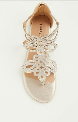 4e41abd7617 LILLY PULITZER FOR Target Gold Wedge Woven Heel Sandals Size 10.5 ...