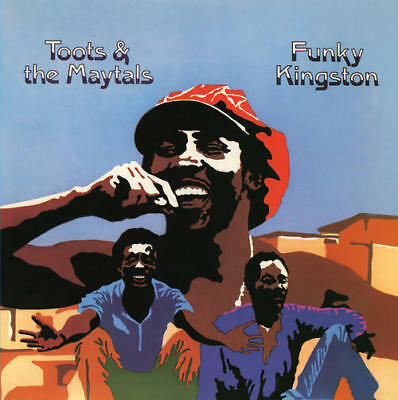 Toots & The Maytals - Funky Kingston 180G LP REISSUE NEW / BLUE VINYL