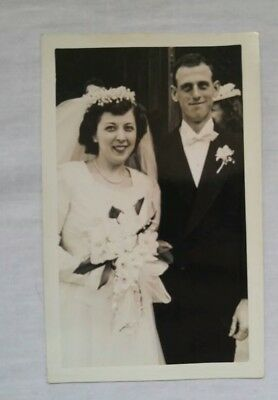 Large Lot Of 1946 Wedding Photos- WW2 Veteran Marries Sweetheart