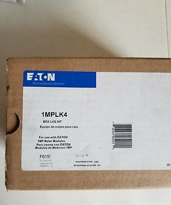 Eaton 1MPLK4 Box Lug Kit, New in Box