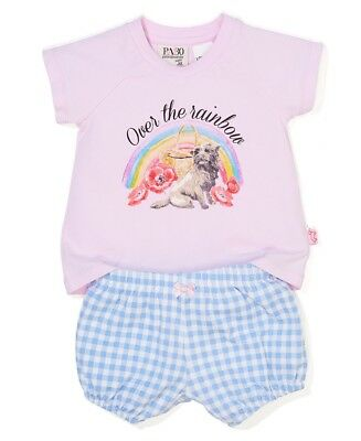 Brand New Peter Alexander Wizard Of Oz  Baby PJ Set  Size 00