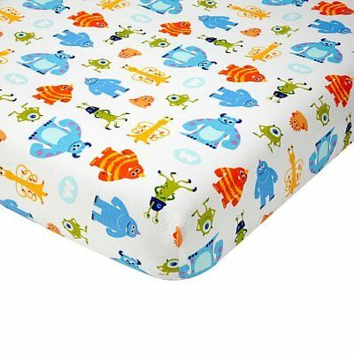 Disney Baby - Monsters, Inc. baby  Crib Sheet sulley - Mike  * See Details
