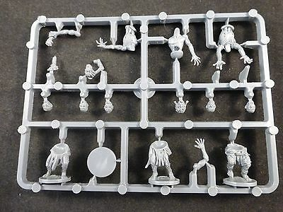 Mantic Games Kings of War Undead Zombie Swarm (3) on Plastic Frame