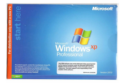 BRAND NEW GENUINE Microsoft Windows XP Service Pack 2 Professional Full Version