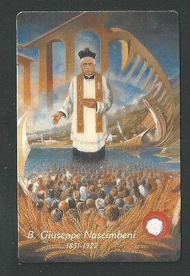 Estampa reliquia Beato Jose santino holy card image pieuse