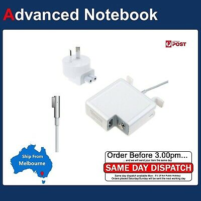AU Power Adapter Charger Magsafe1 Apple MacBook Pro Unibody A1278 2008 - 2011