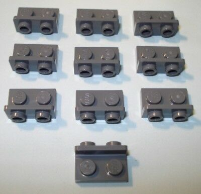 99781 H71 Bracket 1 x 2-1 x 2 Bracket LEGO LIGHT BLUISH GREY x 6 LEGO