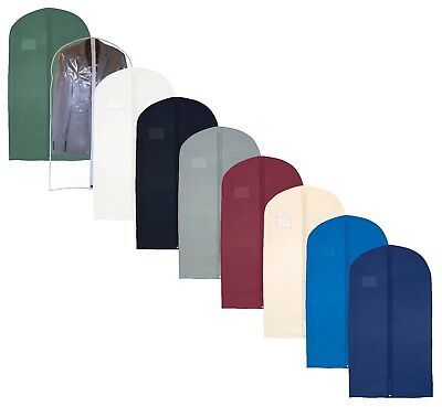 Hoesh Pack 5 Waterproof Shirts Tops Skirts Suit Dress Clothes Cover Garment Bags