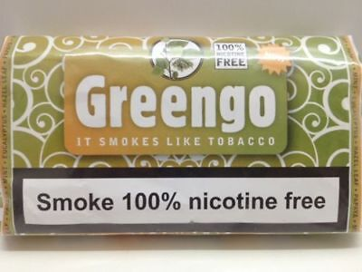 1 PACK GENUINE GREENGO HERBAL SMOKING MIXTURE 30g 100% NICOTINE & TOBACCO FREE