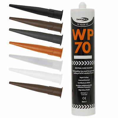 WP70 Silicone Sealant Low Modulus Neutral Cure LMN General Purpose Mastic