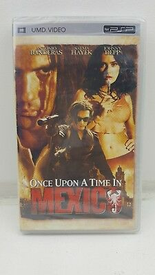 Once Upon A Time In Mexico (UMD), 2011) PSP film movie .New sealed. Collectable.