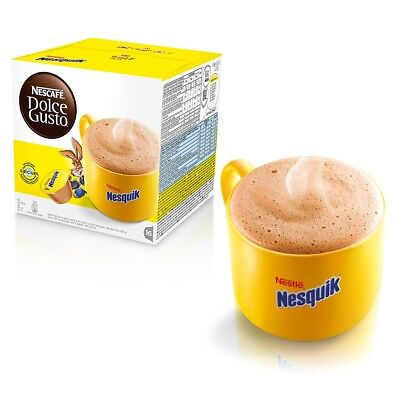 Nescafé Dolce Gusto NESQUIK CHOCOLATE 2 Boxes of 16 x 2= 32 Capsules 32 Servings