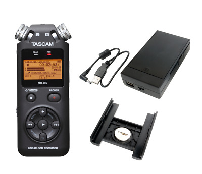 Tascam DR-05 version 2:Recorder Stereo Portable + BP-6AA Battery pack