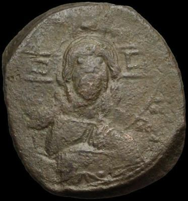 Anonymous AE Follis, Class A, Jesus Christ King of Kings, 28mm, 10.10g