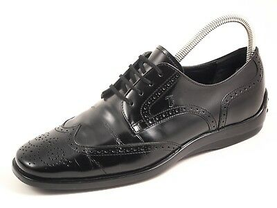 03bb9dc9e6 TOD'S BROGUES, BLACK leather, men's shoe size US 8 EU 41 $520 ...
