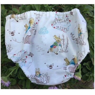 Over The Nappy Cover - Diaper Cover - Peter Rabbit Pants Baby Photo Prop